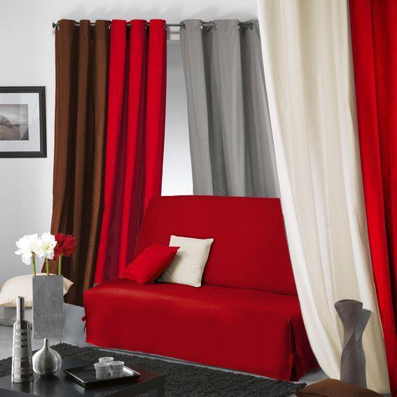 housse de bz gamme panama rouge housse de canap chaise. Black Bedroom Furniture Sets. Home Design Ideas