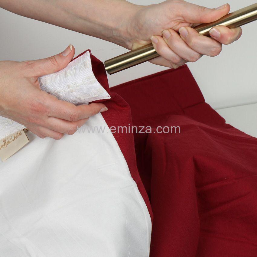 Rideau de porte thermique 100 x h220 cm igloo rouge for Rideau de porte isolant thermique