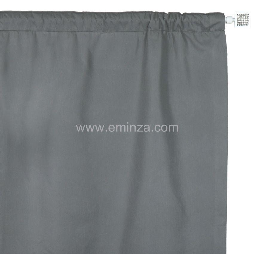 Rideau de porte thermique 100 x h220 cm igloo gris for Rideau de porte d entree isolant