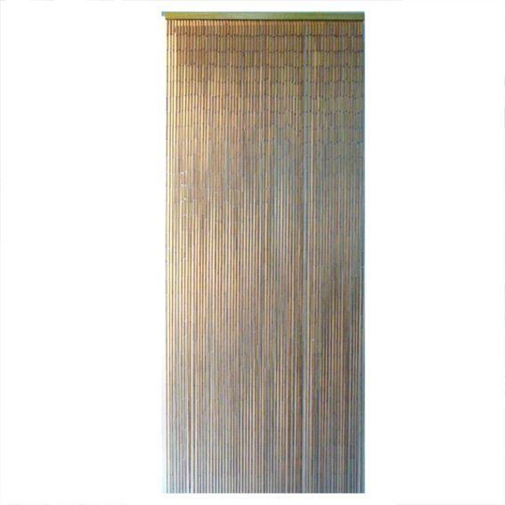 rideau de porte 90 x h200 cm bambou sticks naturel. Black Bedroom Furniture Sets. Home Design Ideas