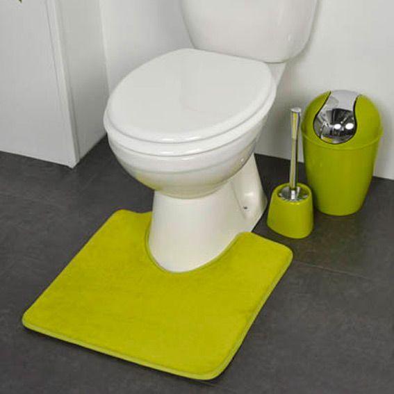 tapis contour wc design vert tapis contour wc eminza. Black Bedroom Furniture Sets. Home Design Ideas