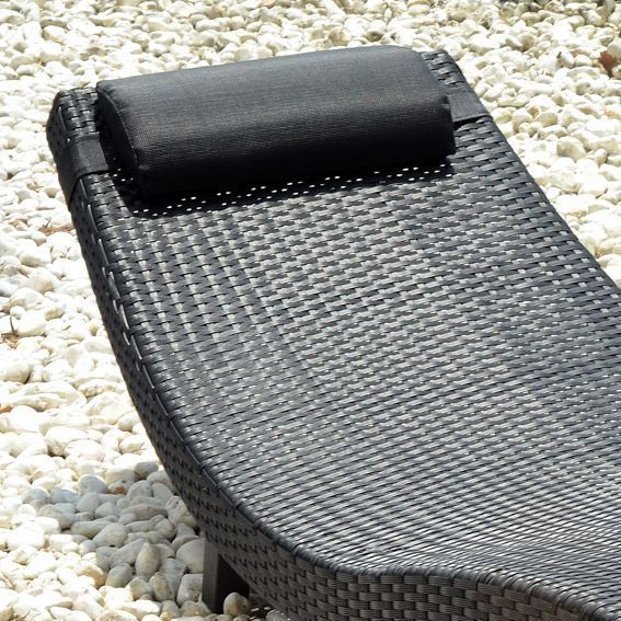 bain de soleil nevada noir bain de soleil eminza. Black Bedroom Furniture Sets. Home Design Ideas