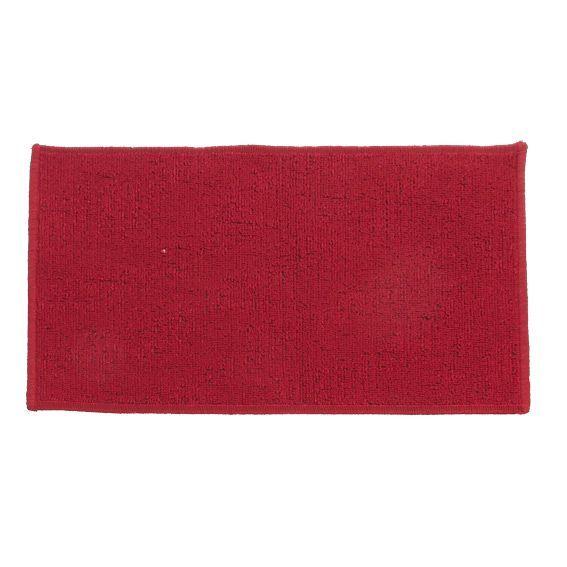 Tapis anti derapant 60 cm uni rouge eminza for Tapis rouge avec canapé 145 cm
