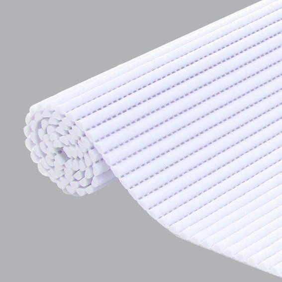 tapis de bain mousse blanc tapis salle de bain eminza. Black Bedroom Furniture Sets. Home Design Ideas