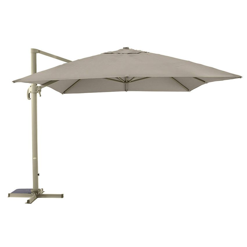 parasol d port fresno rectangulaire l4 x l3 m taupe parasol d port eminza. Black Bedroom Furniture Sets. Home Design Ideas