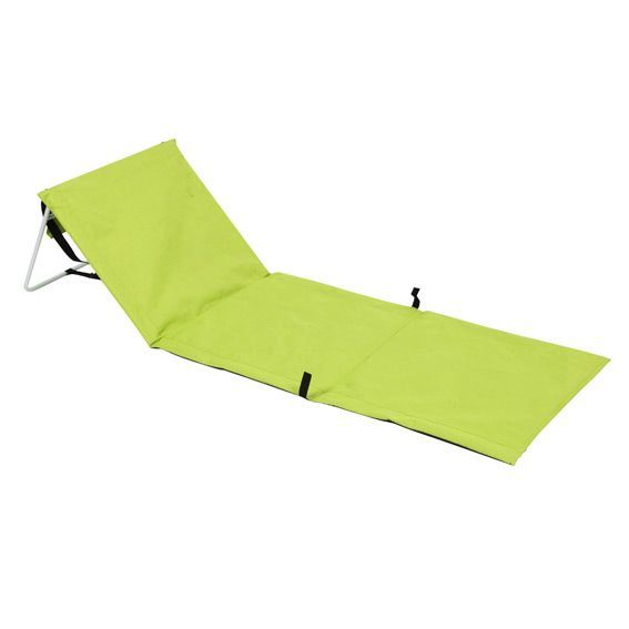matelas de plage tahaa vert anis mobilier de camping eminza. Black Bedroom Furniture Sets. Home Design Ideas