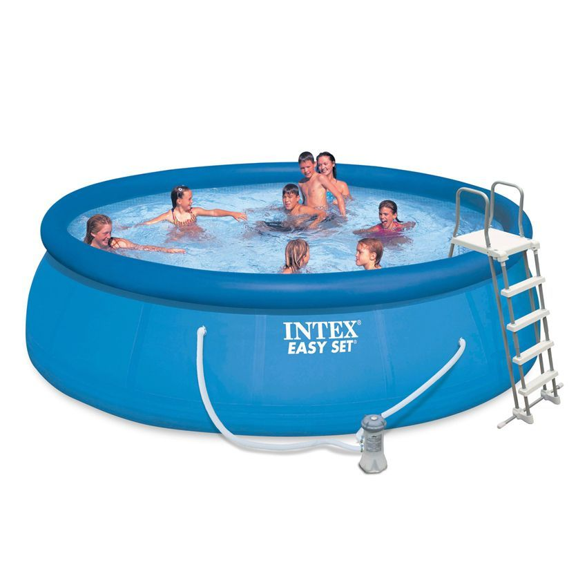 piscine autostable easy set 4 57 x h 1 07 m intex On piscine autostable