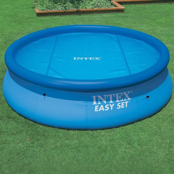 B che bulles m pour piscine ronde intex for Bache bulles piscine
