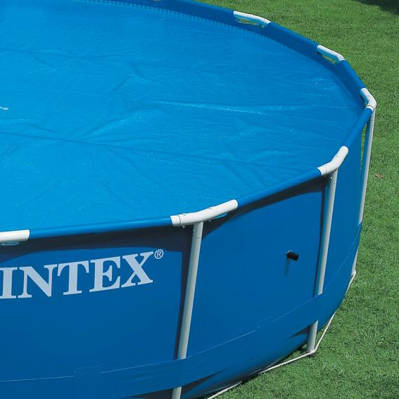 B che bulles m pour piscine ronde intex for Bache piscine intex rectangulaire 4 50