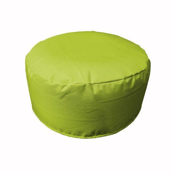 pouf de jardin gonflable vert anis bain de soleil et hamac eminza. Black Bedroom Furniture Sets. Home Design Ideas