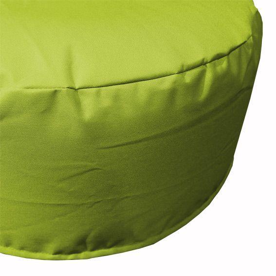 pouf de jardin gonflable vert anis mobilier gonflable eminza. Black Bedroom Furniture Sets. Home Design Ideas