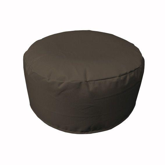 pouf de jardin gonflable gris bain de soleil et hamac. Black Bedroom Furniture Sets. Home Design Ideas