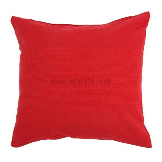 Housse de coussin lana rouge coussin et housse de - Housse de coussin rouge ...