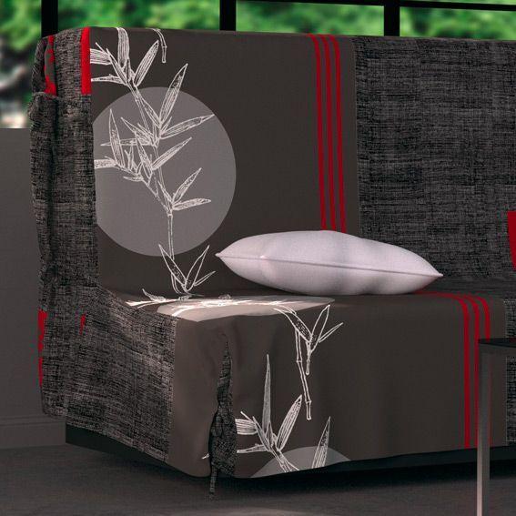 housse de clic clac bangkok housse de clic clac bz eminza. Black Bedroom Furniture Sets. Home Design Ideas