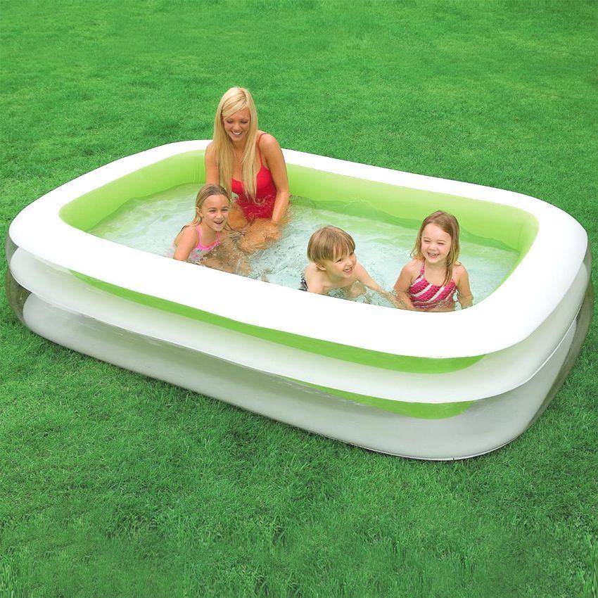 Piscine gonflable cancun intex piscine et accessoires for Pompe pour spa gonflable