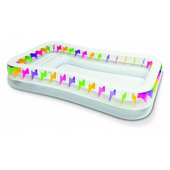 Piscine rectangulaire intex acapulco piscine et accessoires eminza - Spa rectangulaire gonflable ...