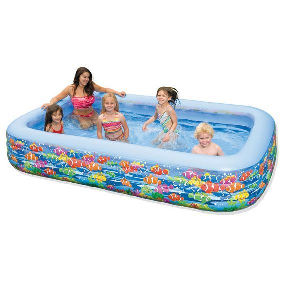 Piscine gonflable recife intex piscine et accessoires for Piscine gonflable rectangulaire