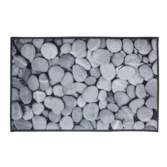 Tapis de cuisine 80 cm galet tapis multi usage eminza for Tapis de cuisine truffaut