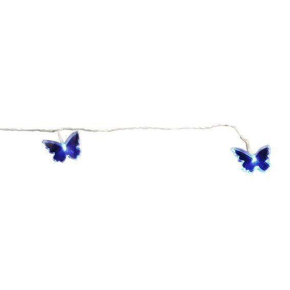 Guirlande lumineuse papillon miroir multicolore - Guirlande lumineuse multicolore ...