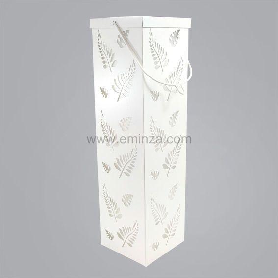 grande lanterne solaire m tal blanc guirlande lumineuse eminza. Black Bedroom Furniture Sets. Home Design Ideas