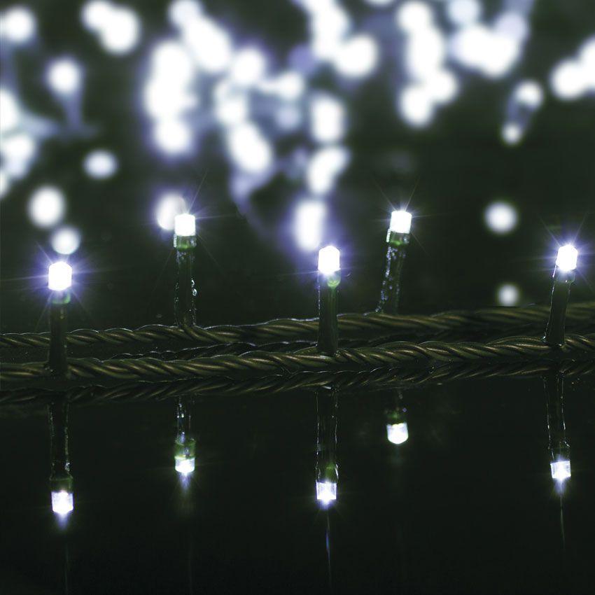 guirlande lumineuse 12 m blanc froid 200 led cv guirlande lumineuse eminza. Black Bedroom Furniture Sets. Home Design Ideas