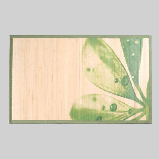 tapis de bain nature bois bambou tapis salle de bain. Black Bedroom Furniture Sets. Home Design Ideas