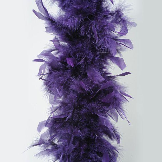 ... Noël > Decoration de sapin > Guirlande de Noël Boa en plume Violet