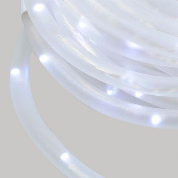 Tube lumineux 185 Micro LED Blanc froid 10 m  Decoration