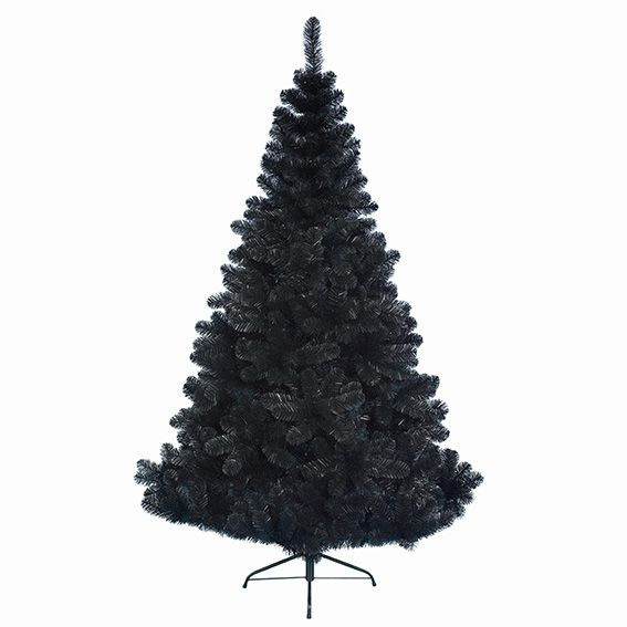 sapin artificiel de no l imp rial h150 cm noir sapin. Black Bedroom Furniture Sets. Home Design Ideas
