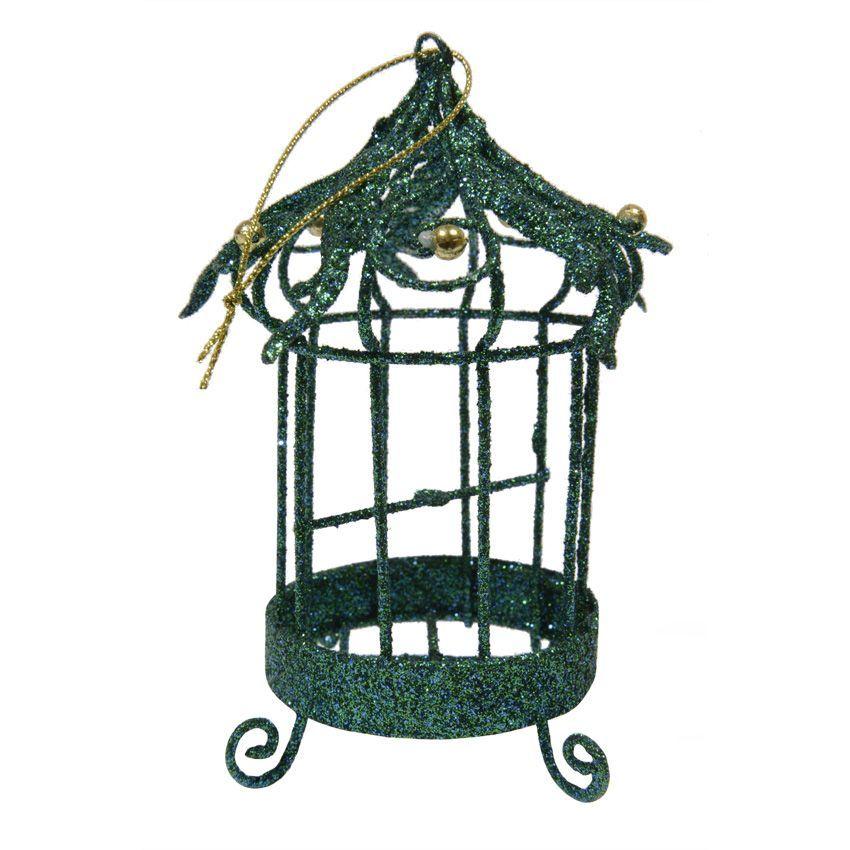 cage oiseau jos phine vert d coration suspendre eminza. Black Bedroom Furniture Sets. Home Design Ideas