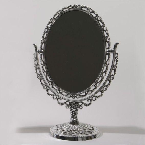 Miroir magique des landes argent el ment de d co eminza for Miroir magique obsidienne noire