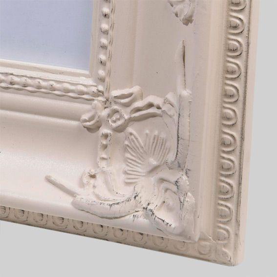 Cadre photo romantique albert ecru cadre photo et for Tableau pour chambre romantique