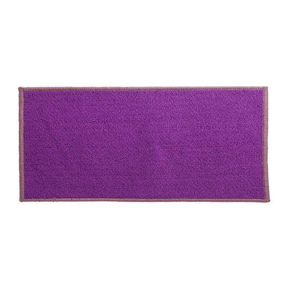 Tapis anti d rapant xxl 120 cm uni prune tapis multi for Tapis salon xxl