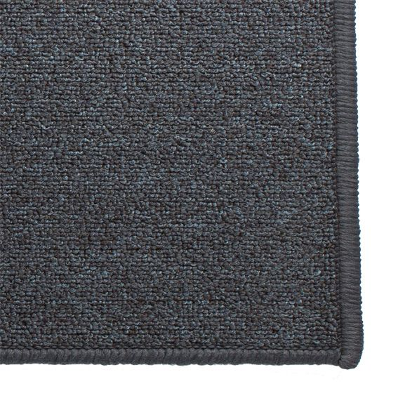 Tapis anti d rapant xxl 120 cm uni gris bleut tapis for Tapis salon xxl