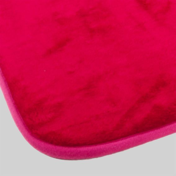 Tapis de bain m moire rose tapis salle de bain eminza - Tapis salle de bain rose ...