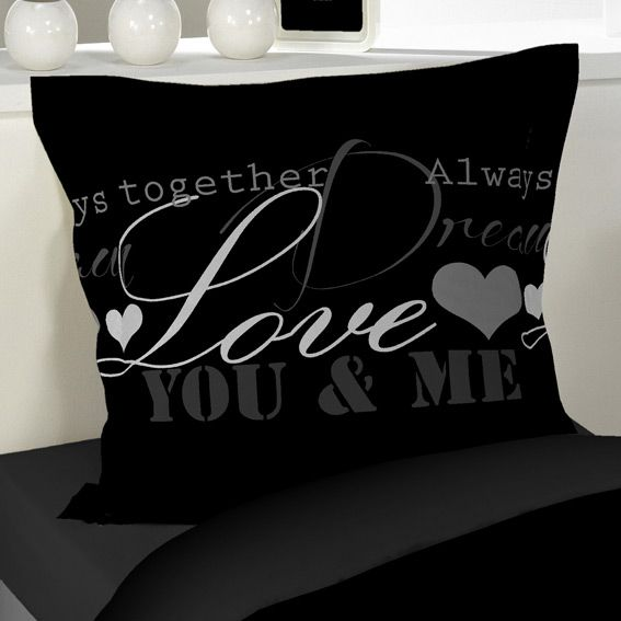 housse de couette et une taie 140 cm love dreams. Black Bedroom Furniture Sets. Home Design Ideas