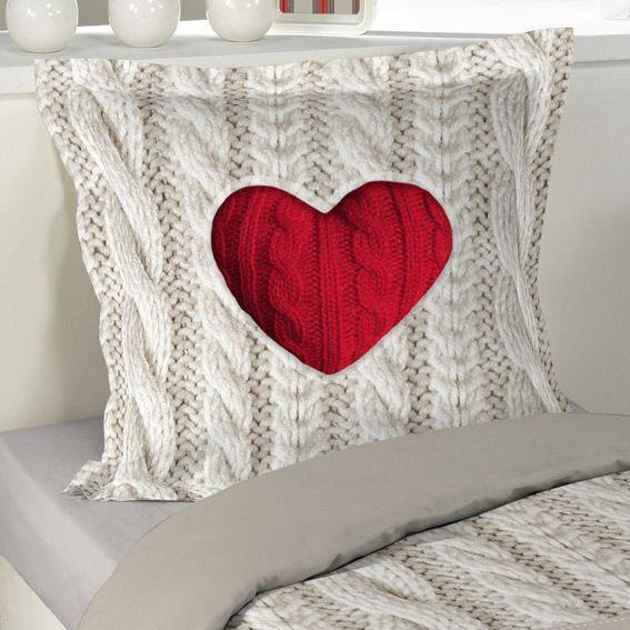 housse de couette et une taie 140 cm coeur de laine housse de couette eminza. Black Bedroom Furniture Sets. Home Design Ideas