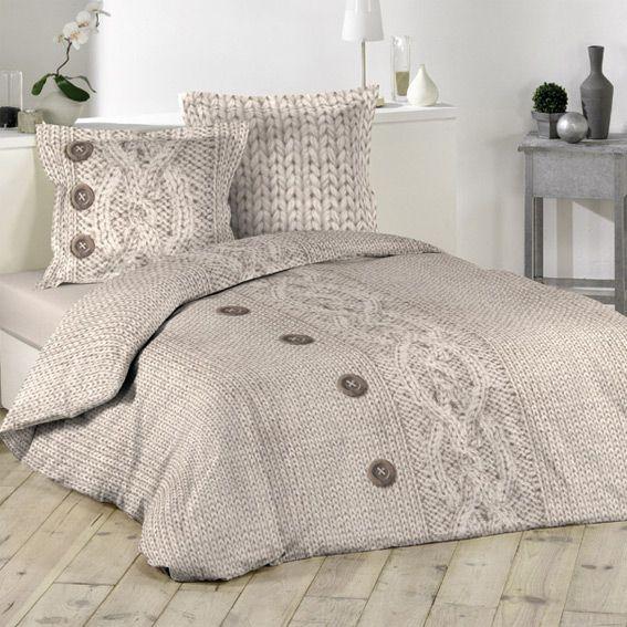 housse de couette et deux taies 240 cm flanelle laina housse de couette eminza. Black Bedroom Furniture Sets. Home Design Ideas