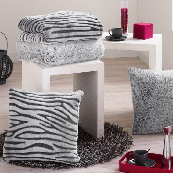 plaid imitation fourrure polux gris plaid fausse. Black Bedroom Furniture Sets. Home Design Ideas