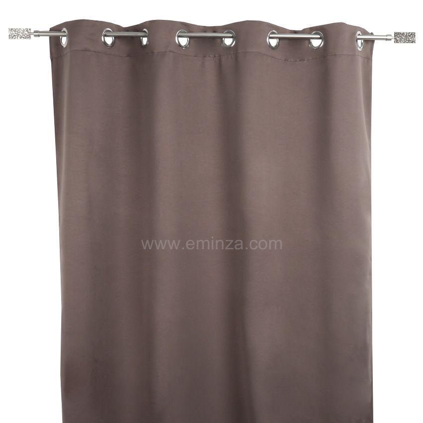 rideau taupe. Black Bedroom Furniture Sets. Home Design Ideas