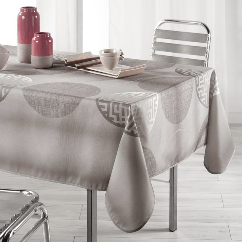 Nappe rectangulaire (L240 cm) Kosmo Lin - Nappe de table - Eminza