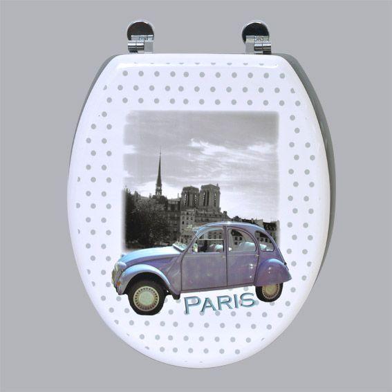 Abattant WC Paris 2CV Gris - Abattant WC - Eminza