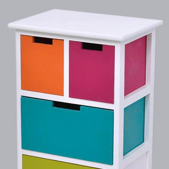 meuble bois miami multicolore meuble d233co eminza