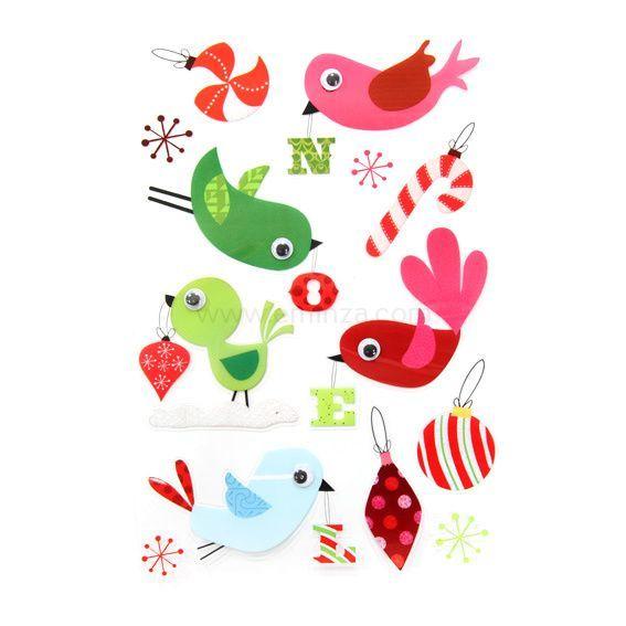 Stickers pour fen tre oiseaux vitrostatique et sticker for Stickers pour fenetre