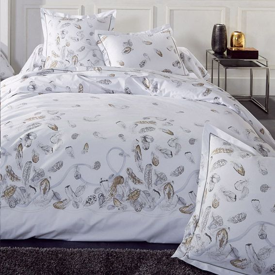 housse de couette et deux taies 240 cm plumes housse. Black Bedroom Furniture Sets. Home Design Ideas