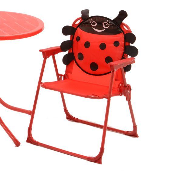 salon de jardin pour enfant coccinelle rouge mobilier. Black Bedroom Furniture Sets. Home Design Ideas