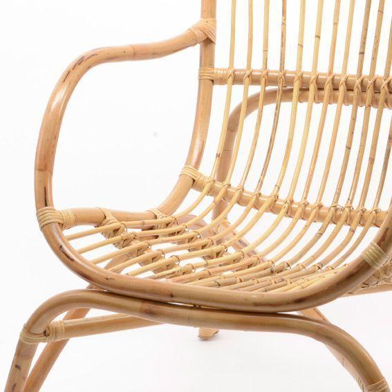 Fauteuil en rotin naturel hamac et accessoires eminza for Chaise hamac nature et decouverte