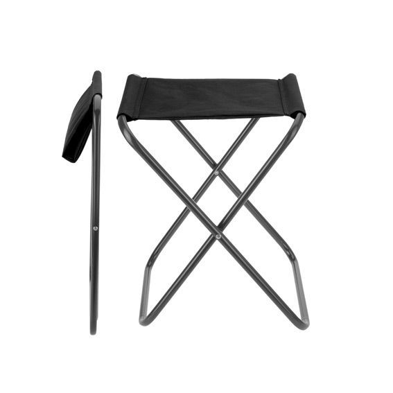 tabouret de voyage wenga noir mobilier de camping et gonflable eminza. Black Bedroom Furniture Sets. Home Design Ideas