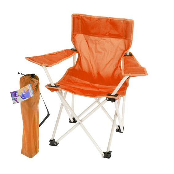 fauteuil de camping pour enfant orange mobilier pour. Black Bedroom Furniture Sets. Home Design Ideas