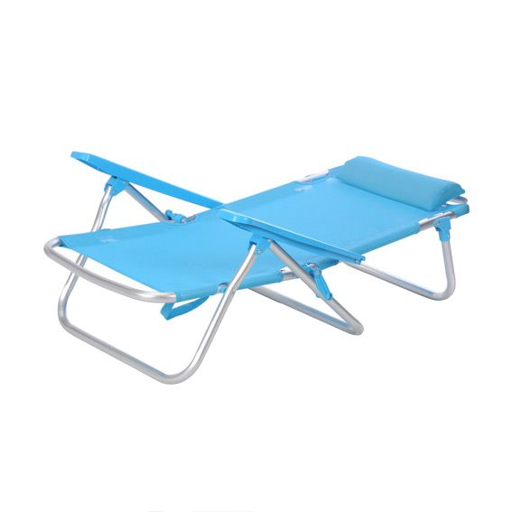 fauteuil de plage wenga bleu fauteuil d tente eminza. Black Bedroom Furniture Sets. Home Design Ideas